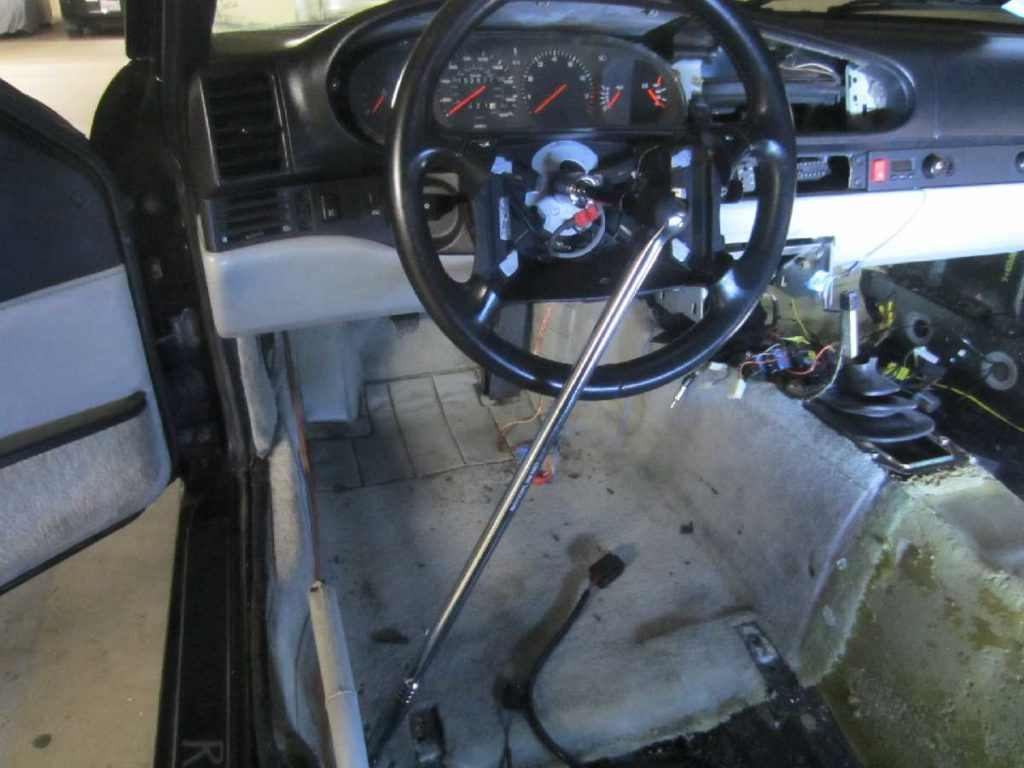 mystery antennas steering wheel and rear carpet removal project968. Black Bedroom Furniture Sets. Home Design Ideas